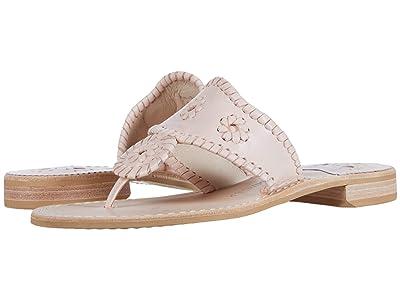 Jack Rogers Jacks Flat Sandal (Blush) Women