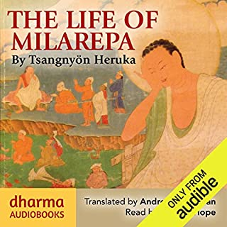 The Life of Milarepa     The Classic Biography of the Eleventh-Century Yogin and Poet – One of the Most Renowned Spiritual Figures in Tibetan Buddhist History              By:                                                                                                                                 Tsangnyön Heruka                               Narrated by:                                                                                                                                 William Hope                      Length: 10 hrs and 24 mins     14 ratings     Overall 4.8