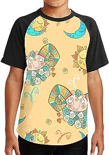 Youth Tee T Shirt For Teenager Hand Drawn Dia De Muertos Boy Tshirts