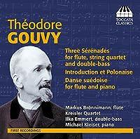 ルイ・テオドール・グヴィ:フルートと弦楽のためのセレナード集(Théodore Gouvy: Sérénades for Flute and Strings)