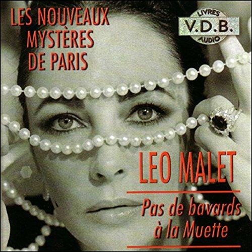 Pas de bavards à la Muette (Les nouveaux mystères de Paris 8) audiobook cover art