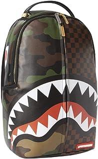 Sprayground | Cheques y mochila camuflada Brown | SPR_910B3156NSZ