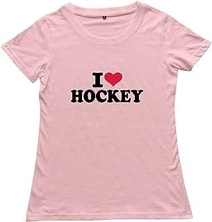 Goldfish Women's Hot Topic Organic Cotton Love Hockey T-Shirt