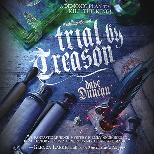 Trial by Treason audiobook cover art