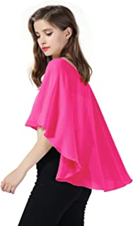 Chal Estola de Gasa Mujer Capa Bolero para Fiesta Boda Novia 25 Colores
