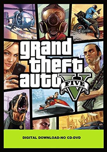 Grand Theft Auto V – PC – (ROCKSTAR SOCIAL CLUB DOWNLOAD CODE-NO CD/DVD)