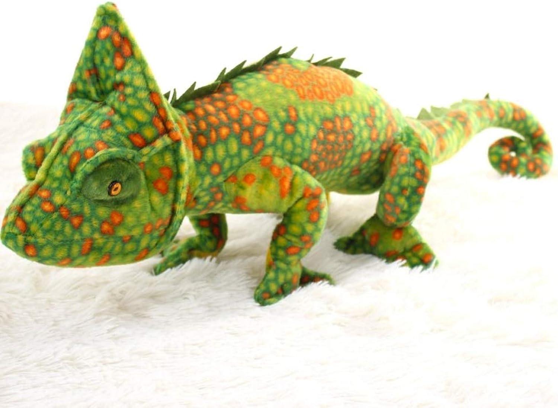 más vendido Juguete de Peluche simulación camaleón Lagarto Lagarto Lagarto muñeca muñeca Gecko Creativo Diverdeido Almohada Regalo de cumpleaños, 80 cm (Color   B, Talla   85cm)  100% autentico
