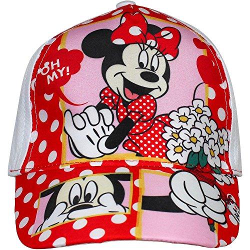Disney Niños gorra Cap Tapa Minnie Maus (weiß) 52