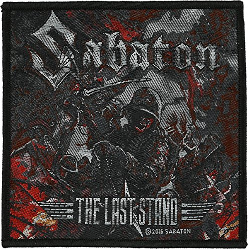 Sabaton The Last Stand Patch Standard