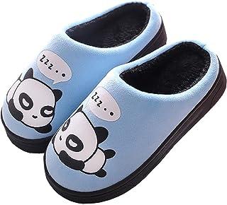 Gaatpot Donne Uomo Warm Cotone Pantofole Carine Panda Pantofole Ragazzi Ragazze Interni Antiscivolo Pantofole Scarpe di Co...