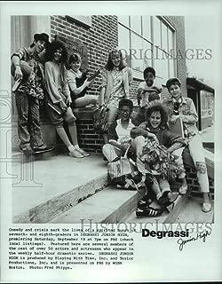 Vintage Photos 1987 Press Photo Cast Members of Degrassi Junior High PBS TV Series