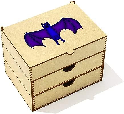 Azeeda  Spooky Bat  Vanity Case Makeup Box  VC00020528