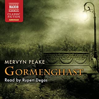 Gormenghast     The Gormenghast Trilogy, Book 2              By:                                                                                                                                 Mervyn Peake                               Narrated by:                                                                                                                                 Rupert Degas                      Length: 4 hrs and 49 mins     23 ratings     Overall 4.6