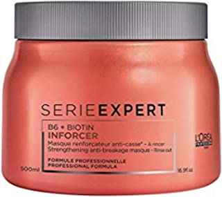 LOreal Professional LOreal Professional Serie Expert B6 Plus Biotin Inforcer Masque for Unisex 16.9 oz Masque, 500 ml