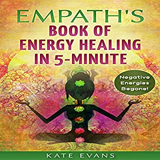 Empath's Book of Energy Healing in 5-Minute  audiobook cover art
