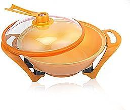 Pot à chaude électrique multifonctionnelle, Pot de lingot d'or sous vide, poêle à chauffage électrique, wok électrique ant...