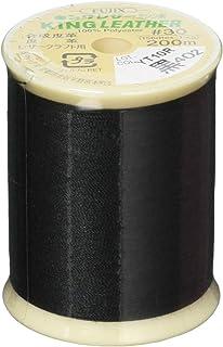 FUJIX キングレザーミシン糸 #30 200m巻 402黒