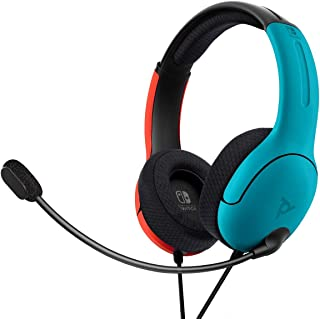 comprar comparacion PDP - Auricular Stereo Gaming LVL40 Con Cable, Azul / Rojo (Nintendo Switch)