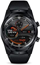 TicWatch Pro 4G LTE Cellular Smartwatch GPS NFC Wear OS by Google Android Health and Fitness Tracker with Calls Notificati...