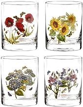 Portmeirion Botanic Garden Set of 4 Double Old Fashioned Glasses