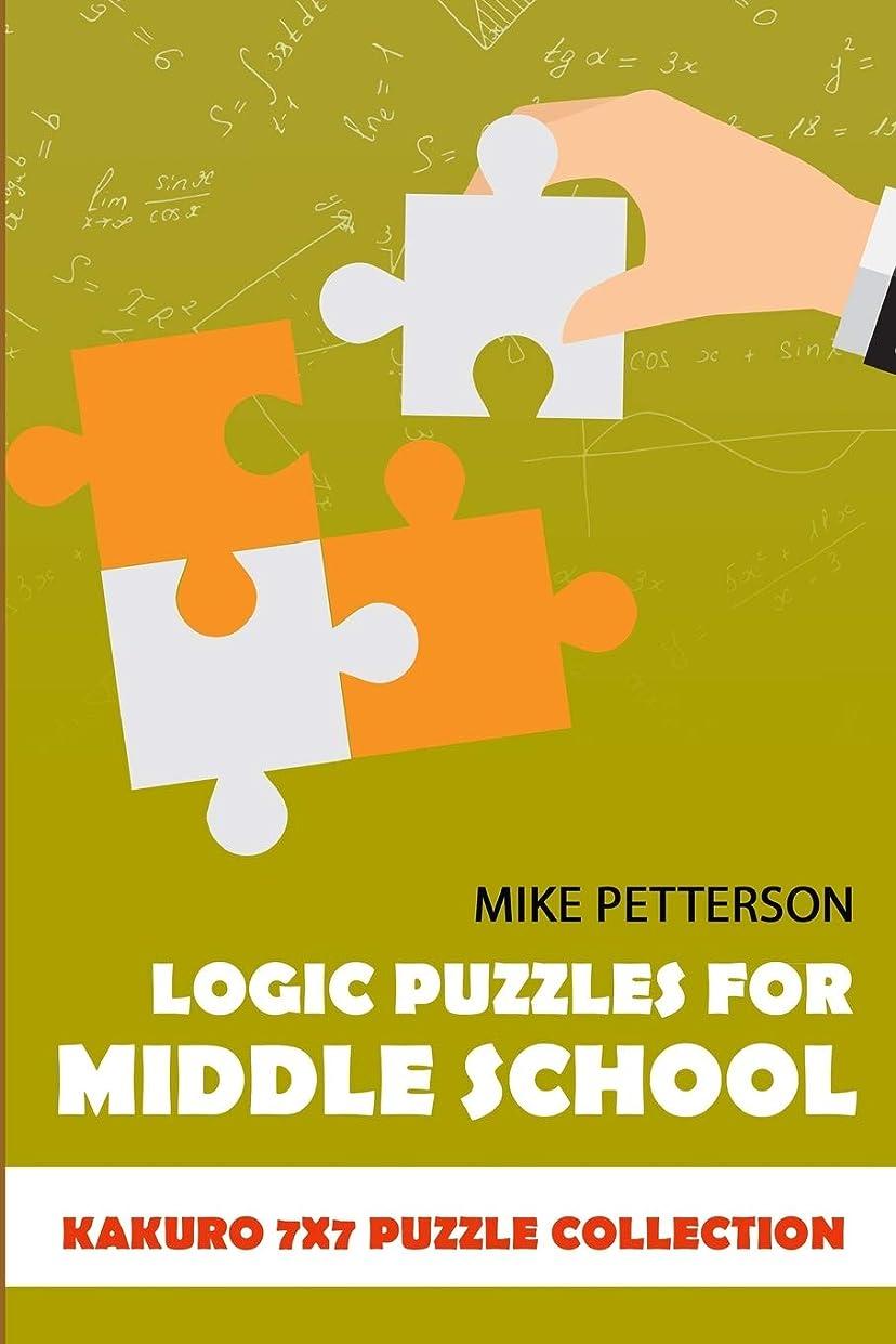 一晩スタック回復するLogic Puzzles For Middle School: Kakuro 7x7 Puzzle Collection (Math Puzzles For Teens)