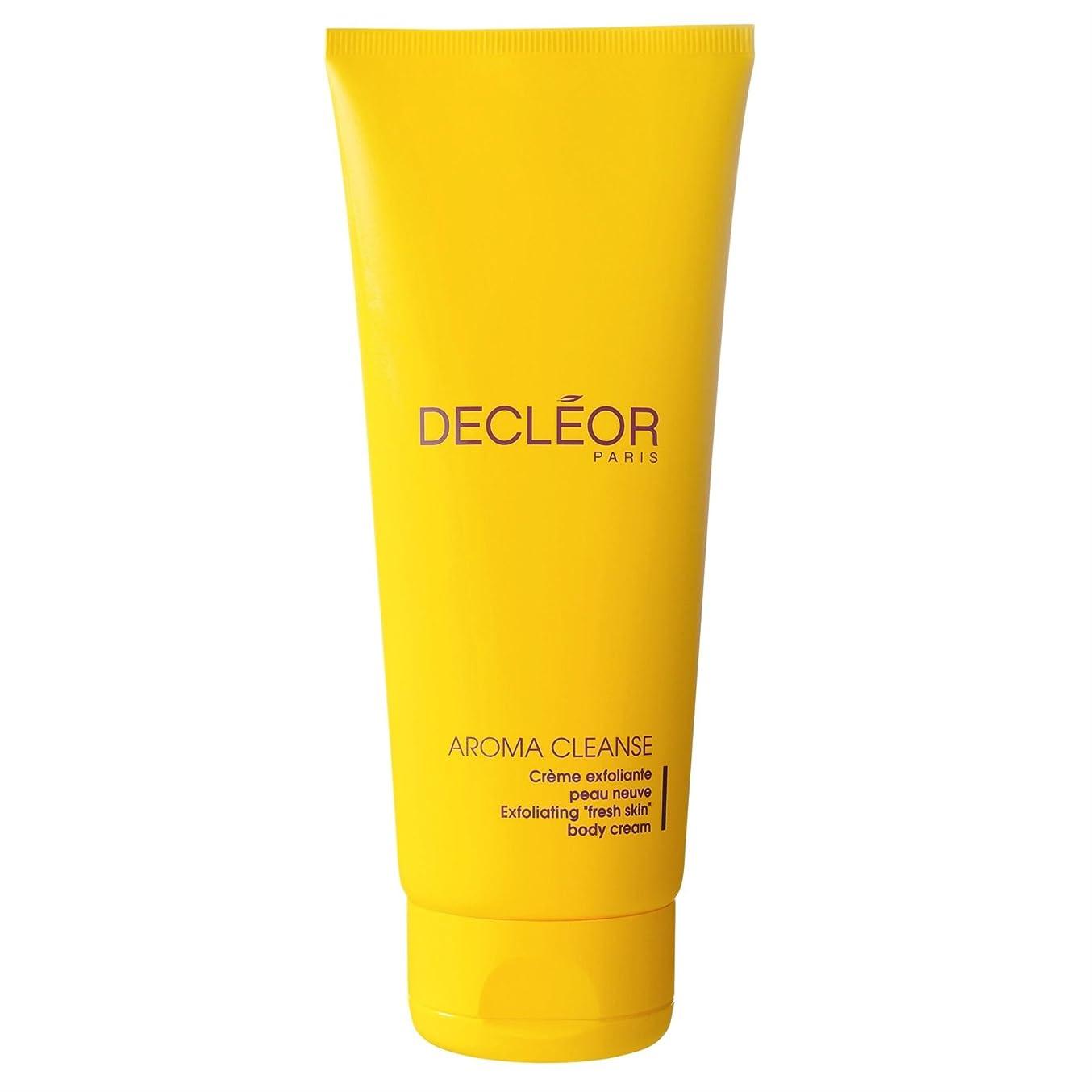 建てる作物比類なき[Decl?or ] デクレオール角質除去ボディクリーム200ミリリットル - Decl?or Exfoliating Body Cream 200ml [並行輸入品]