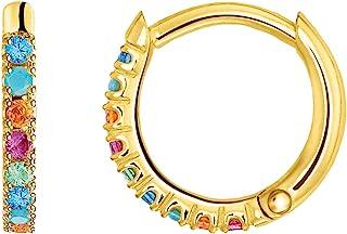 Thomas Sabo Women's Single Hoop Earrings 925 Sterling Silver Clip Closure