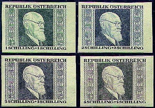 Goldhahn  erreich Nr. 772-775 A+B postfrischRenner-Einzelwerte - Briefürke...