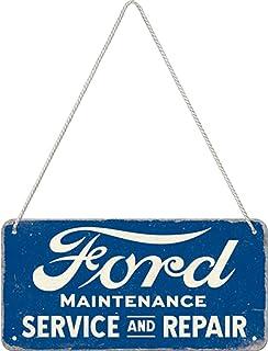 Nostalgic-Art Retro Ophangbord, Ford – Service & Repair – Geschenkidee voor fans van autoaccessoires, van metaal, Vintage ...