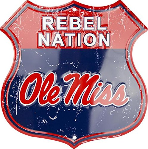 HangTime Rebel Nation - Ole Miss Route Sign