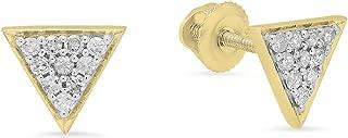 Best triangle cut diamond earrings Reviews