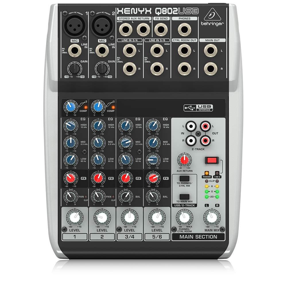 Behringer Q802USB Premium 8 Input Interface