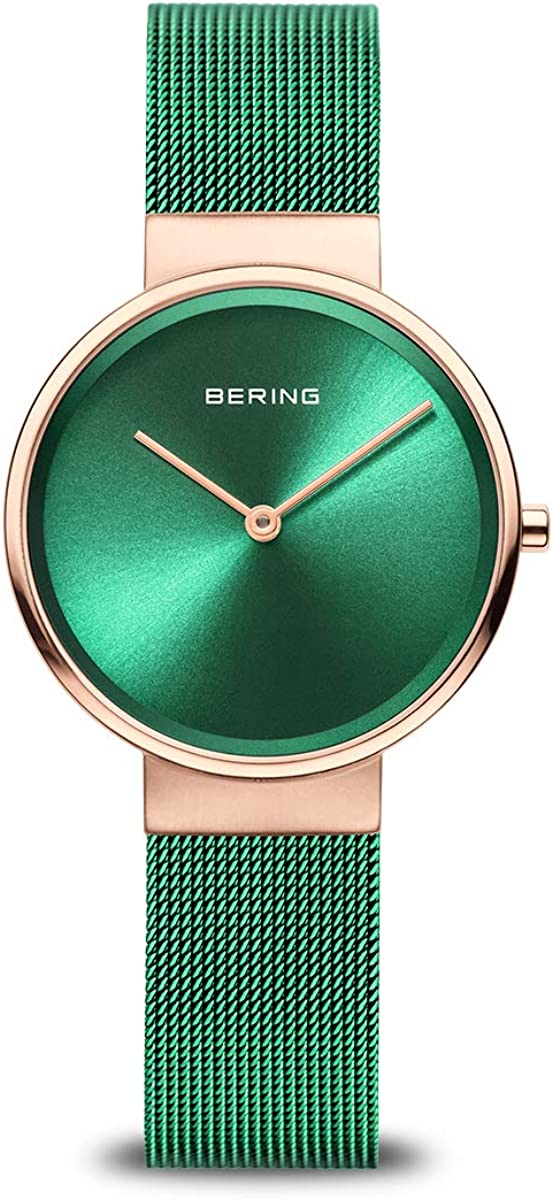 NEW before selling ☆ BERING Time specialty shop Women's Slim Watch Case Classic 13326-868 26MM