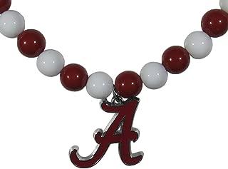 Siskiyou Sports NCAA Alabama Crimson Tide Fan Bead Necklace