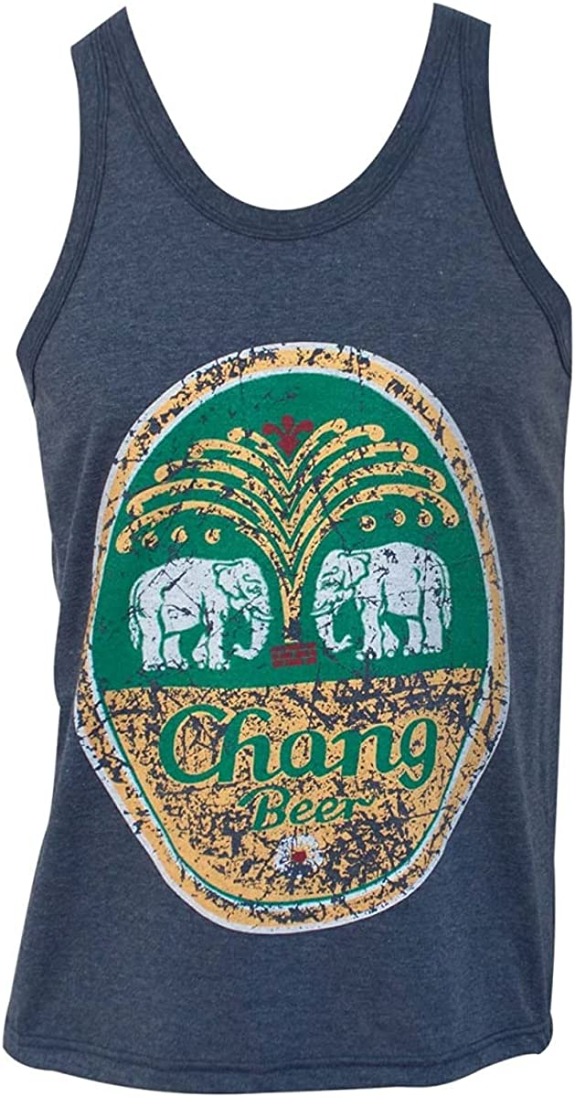 Chang 2021 Limited time trial price Beer Vintage Oval Logo Tank Top