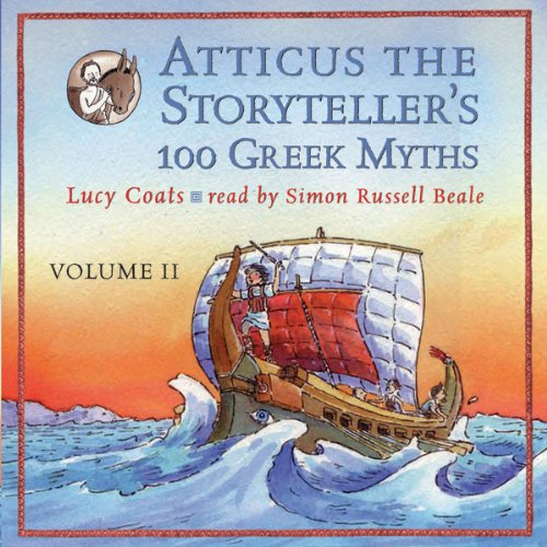 Atticus the Storyteller's 100 Greek Myths Volume 2 audiobook cover art