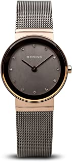 BERING Time 10126-369 Womens Classic Collection Watch with Mesh Band and Scratch Resistant Sapphire Crystal. Designed in Denmark.