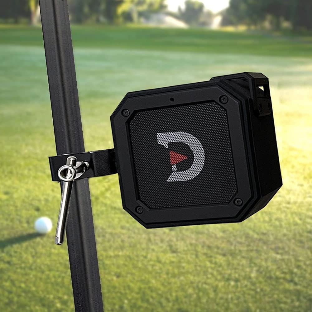 ACHIX Golf Cart Speaker Aluminum Alloy Mount Portable Waterproof Bluetooth,15 Watts IPX7 Power Bass Boost, Extended Bluetooth Range Outdoor 20...