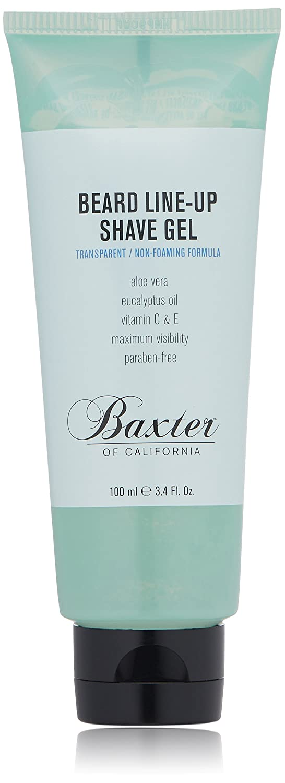 Baxter of California Beard Indefinitely Line-Up Non-Foamin Shave for Regular store Men Gel