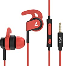 boAt Bassheads 242 in Ear Wired Earphones with Mic(Red)