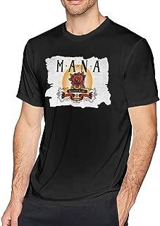 Mens Classic Mana T Shirt Black