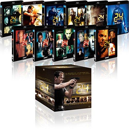 24 -TWENTY FOUR- コンプリート ブルーレイBOX (「24 -TWENTY FOUR- レガシー」付) [Blu-ray]