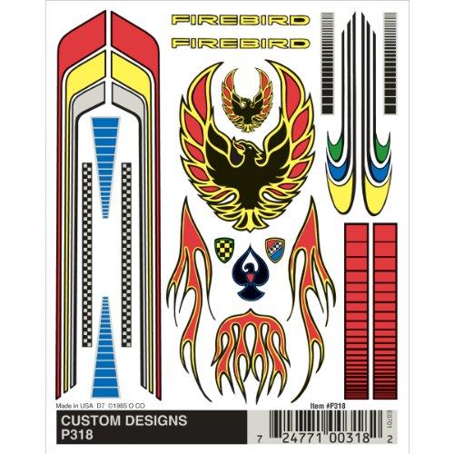 Woodland Scenics Kiefer Auto Derby Dry Transfer Stickers 4 inch x 12,7 cm sheet-customs ontwerpen