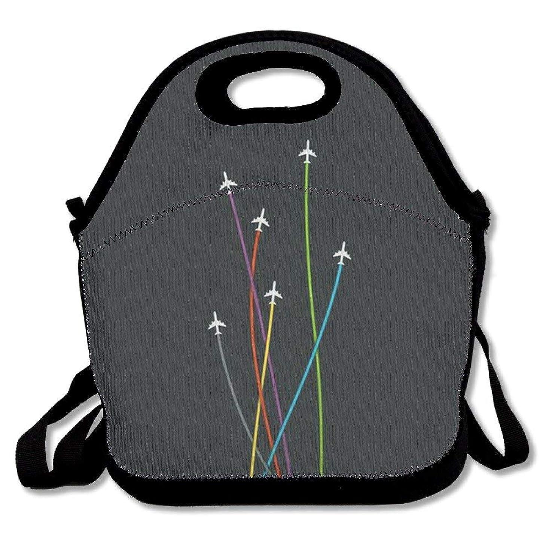 ベンチジョージスティーブンソン脇にCool Pineapple Insulated Lunch Bag Bag Travel School Picnic Lunch Box For Men & Women & Kids