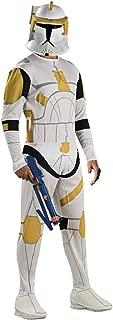 Rubies Costume Co Men's Star Wars Clone Trooper Commander Cody Costume