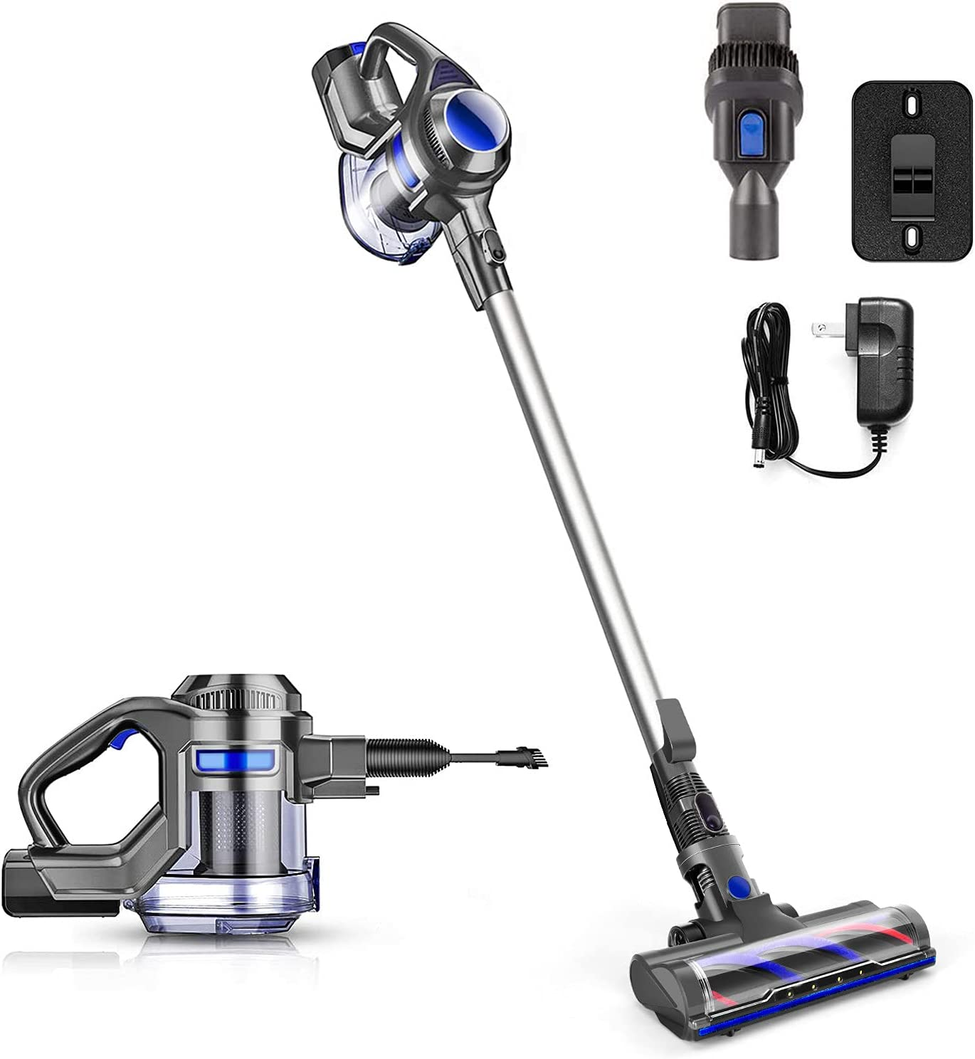 Cordless Limited time for free shipping Vacuum Powerful Suction Stick Handheld Department store Cleaner