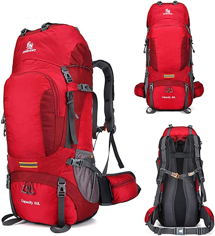 COAOC Camping Wanderrucksack Reifestes Polyester Bergsteigen-Rucksack Multifunktional für Mnner und Frauen Reiserucksack