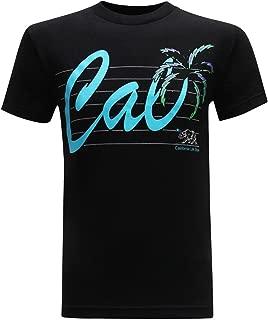 tees geek California Republic Cali Neon Men's T-Shirt