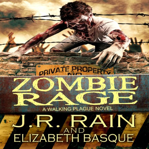 Zombie Rage audiobook cover art