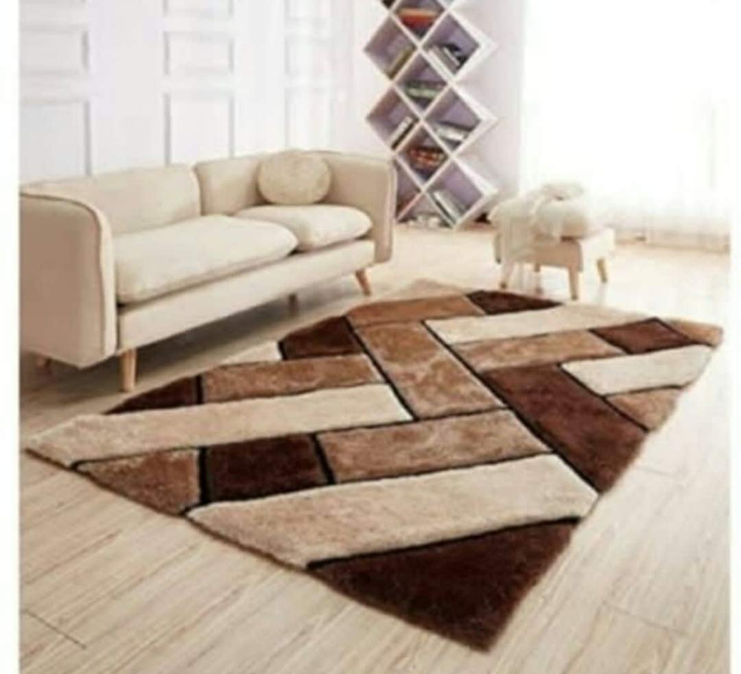 Buy Srhandloom Modern Carpet Rug For Living Room Home And Bedroom 3 X 5 Online At Low Prices In India Amazon In